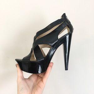 Michael kors platform heels stilettos